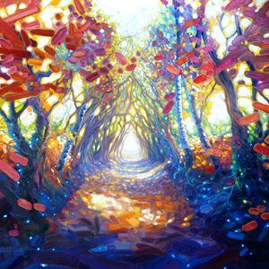 Autumn path to somewhere wonderful