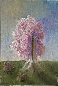 Blissoming tree