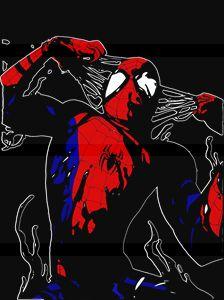 Spider-Man Symbiote Color