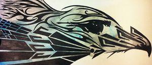 Tribal(ish) Eagle