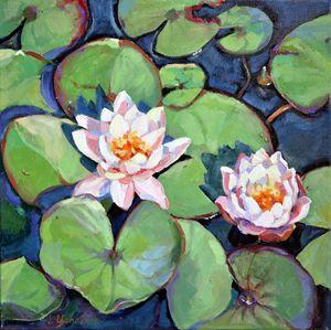 Waterlilies - Irina Ushakova