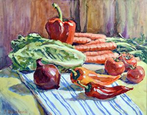 Vegetables. - Irina Ushakova
