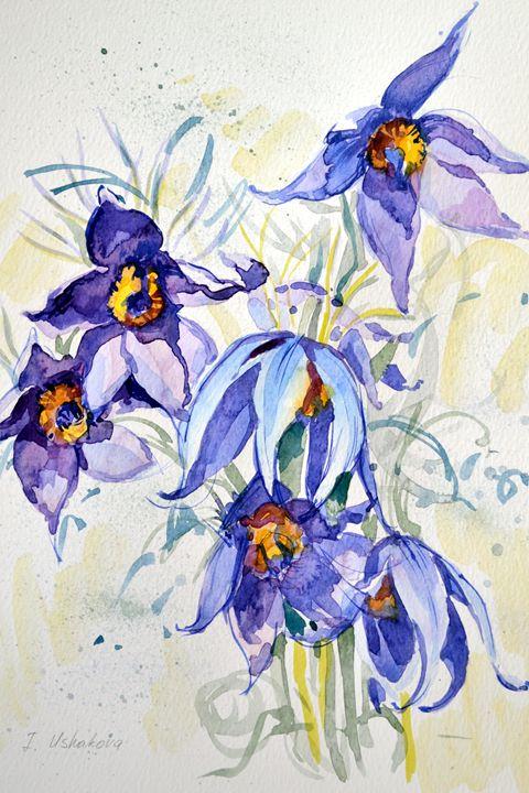 The blues. - Irina Ushakova