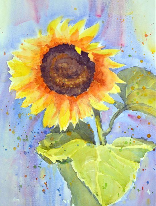 Sunflower - Irina Ushakova