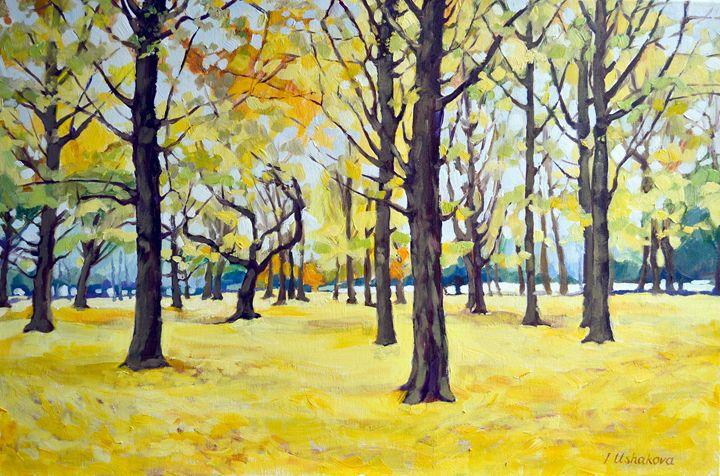 AUTUMN FOREST. - Irina Ushakova