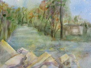 Catherine Creek in Montour
