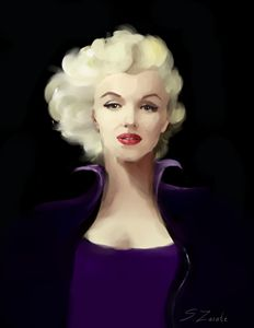 Marylin in Violet