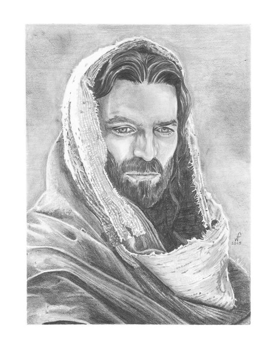 The Christ - Will Ford Art