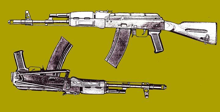 Assault Rifle - Juhan Rodrik
