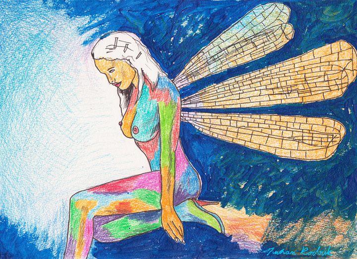 Six Wing Fairy - Juhan Rodrik
