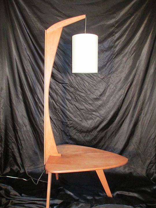 Midcentury modern floor lamp - instinct-photography