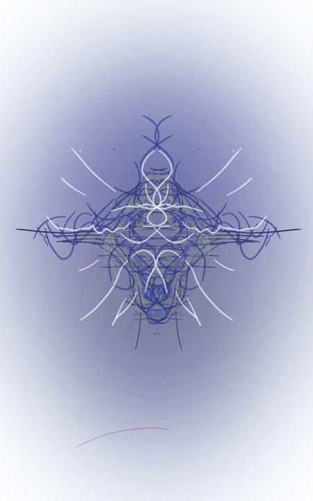 Abstract UFO - Calvin Sims arts