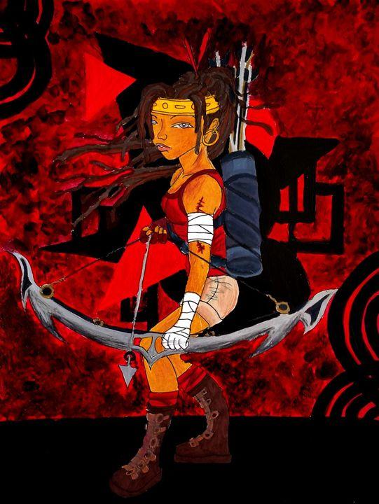 Sustah Girl Archer - Jazzy Bear Arts
