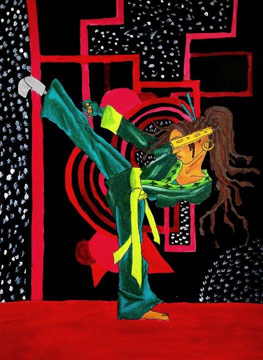 Sustah Girl Karate - Jazzy Bear Arts
