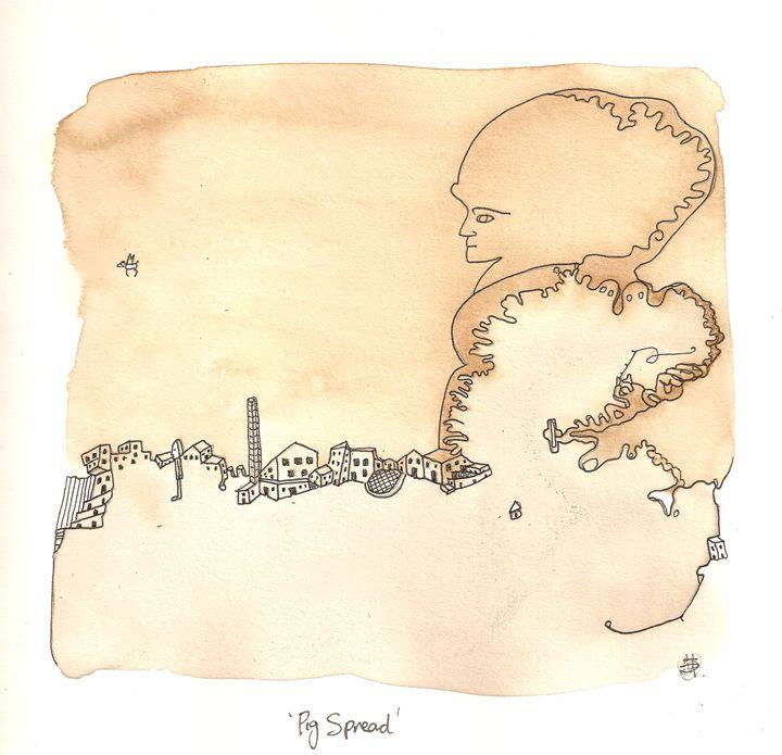 Pig spread - Bruco Designs