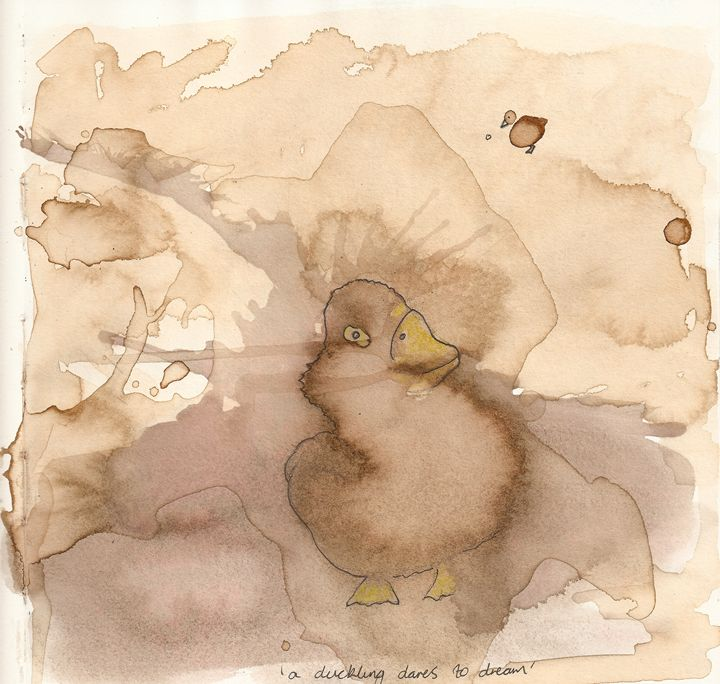 A duckling dares to dream - Bruco Designs