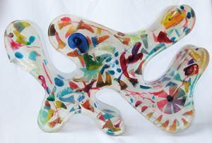 Dragon (epoxy resinart)