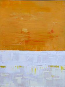 Orange White And White