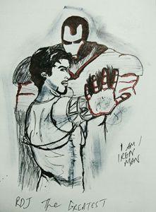 Tony is iron man