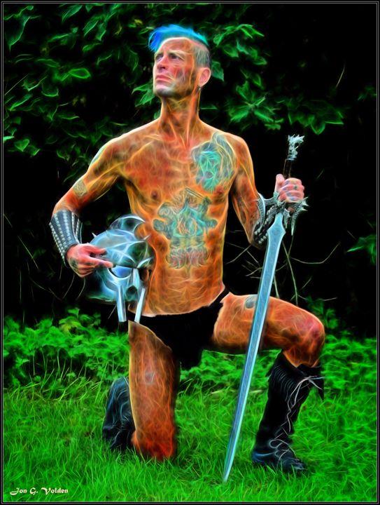 Mystic Gladiator - DunJon Fantasy Art