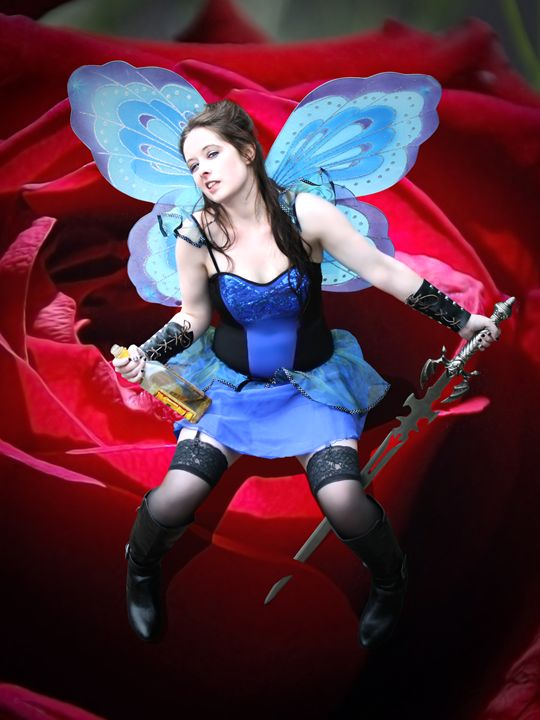 What do you do with a Drunken Fairy? - DunJon Fantasy Art