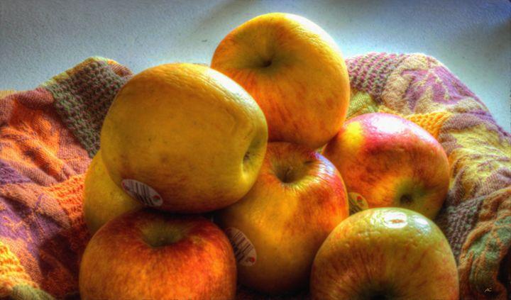 Apples in Oil - Double Moon Art