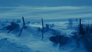 Winter Blue Prairie