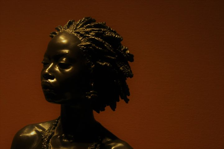 Bust Of An African Woman - Natalie Alicia