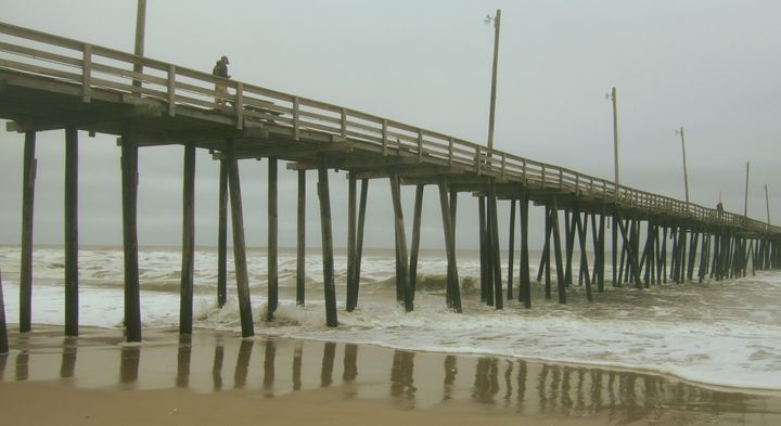 Rainy morning in the Outer Banks - Ryan Lane Collection