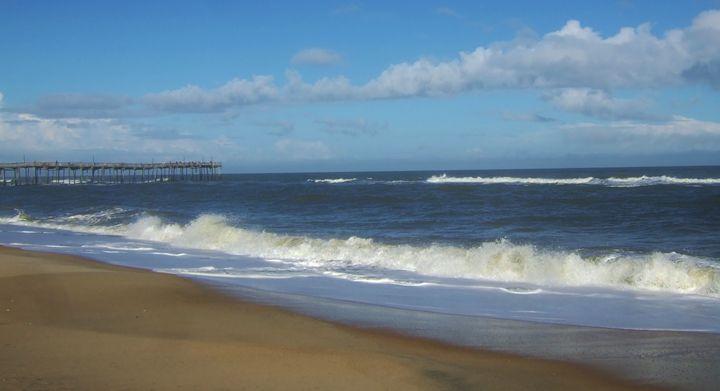 Beach Walk to the Pier - Ryan Lane Collection