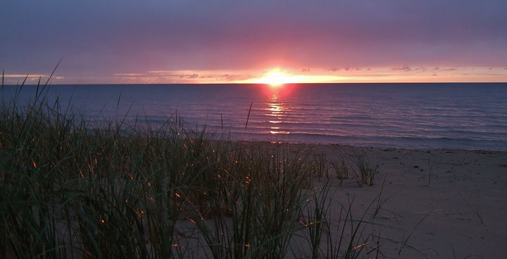 Lake Michigan Sunrise - Ryan Lane Collection