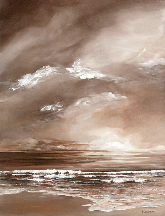 SUNSET IN SEPIA - Ruth Bowen Professional Artist