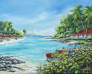Little Bay in Paradise
