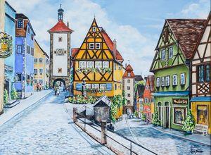 The Ponlein Rothenburg Germany