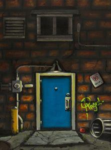 Back Alley Door - Angelo Pietrarca