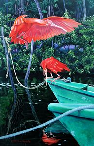 Scarlet Ibis, Prepare For Landing