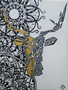 Ornamental deer