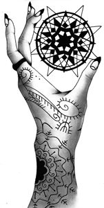 Tattoed Hand