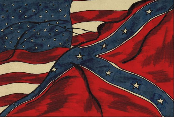 The American Flags - D.M.Simpson
