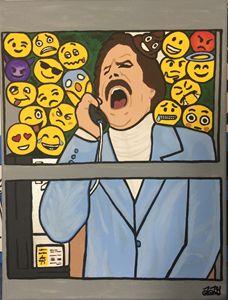 Glass Case of Emojis