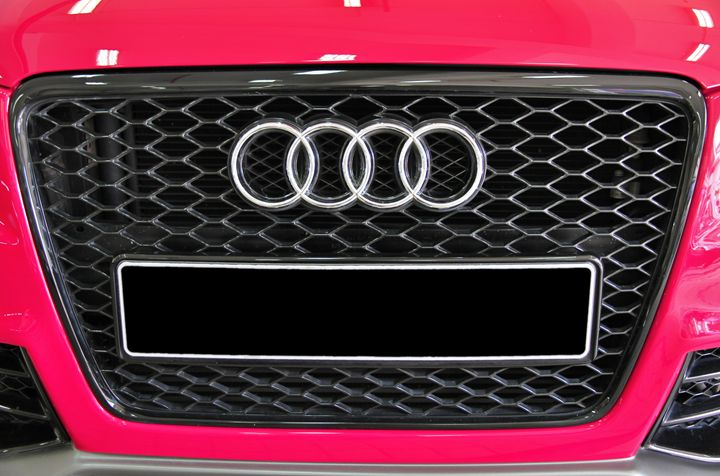 Audi A4 front grill and logo - Alvin Wong Photography Gallery