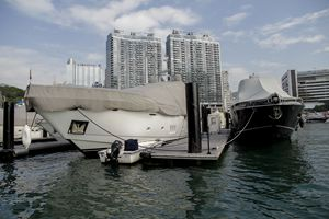 Yatchs at Aberdeen, Hong Kong Island - Alvin Wong Photography Gallery