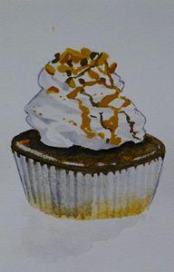 PB Choco Cupcake
