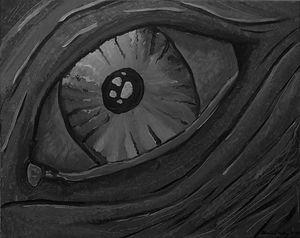 Dragons Eye B&W