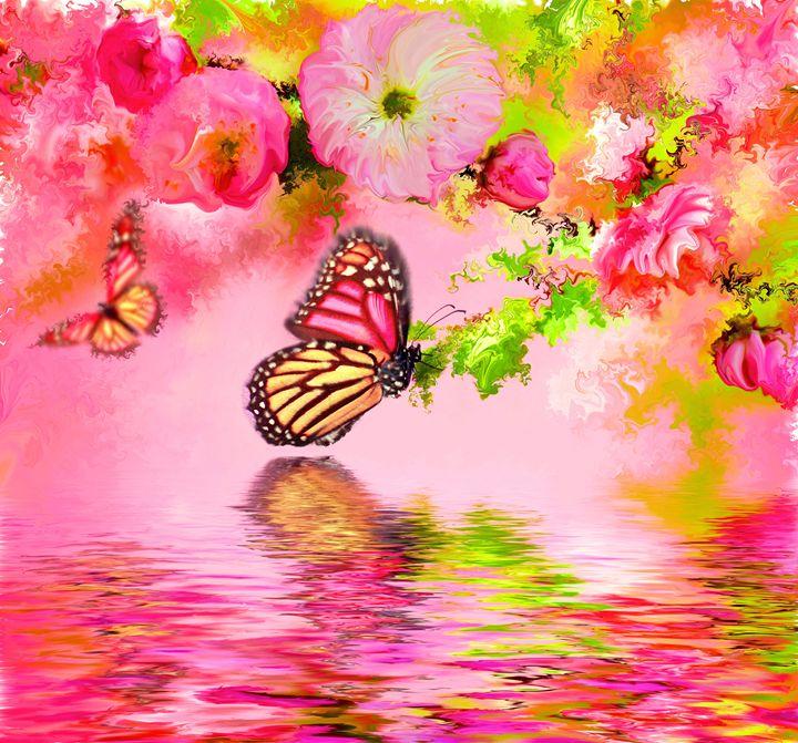 butterfly pink - Alexander Del Rey