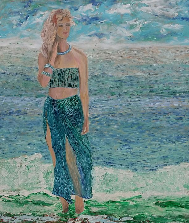 Among the Waves - Cindy Omidi