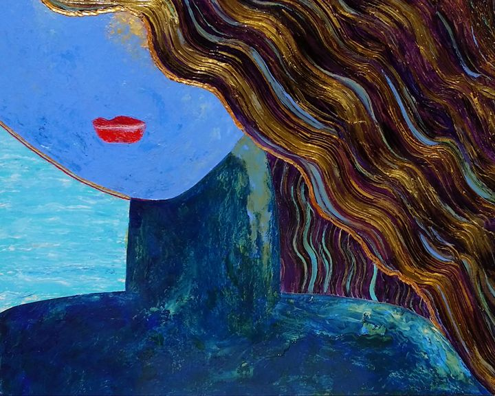 Beauty in Blue - Cindy Omidi