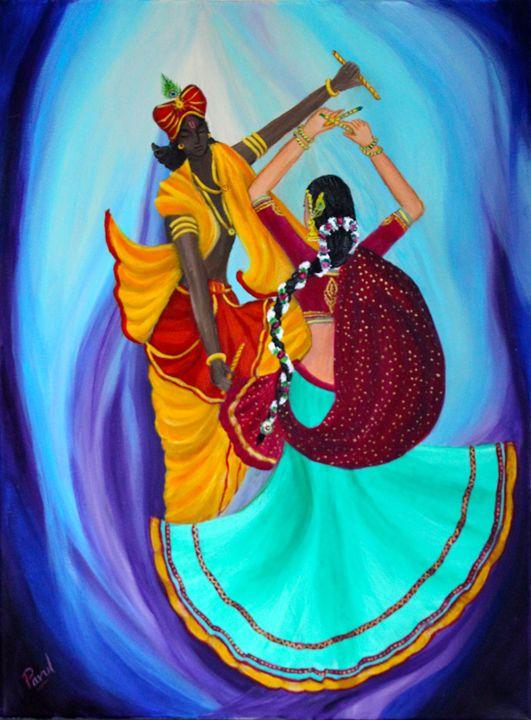 Transcedental Dancing - RadhaKrishna - Parul Mehta