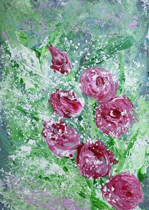 Pink roses - Branka