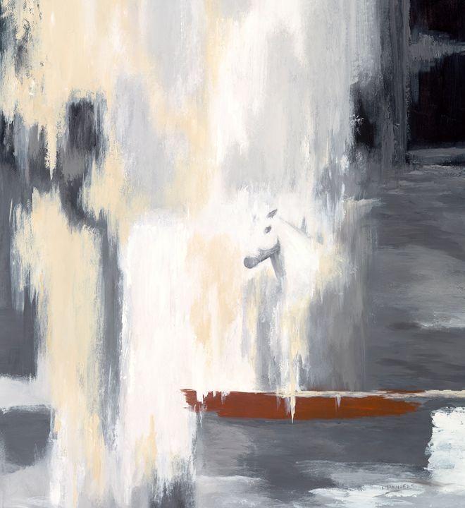 Stepping out of the Falls - LDaniels Art